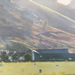 Afternoon-shadows-Langdale-valley