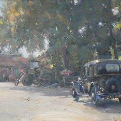 Home-Farm-and-the-Austin-12-Oil-10-x-12