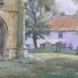 Old-Churchyard-Misson-Watercolour