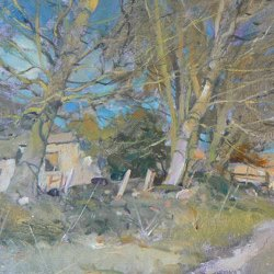 Old-Farmstead-above-Hathersage-Oil-9-x-12