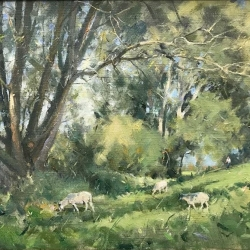 Sheep-grazing-by-the-River-Idle
