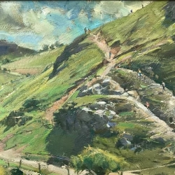Steep-hillside-Dovedale