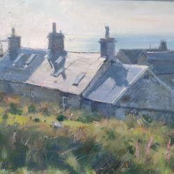 Sunlit-rooftops-Kilmory-Argyll