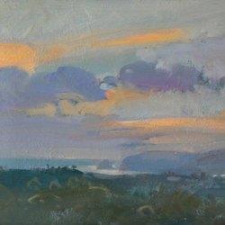 Sunset-Porthcothan-Oil-10-x-7