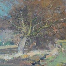 Winter-Landscape-Wentworth-Oil-14-x-10