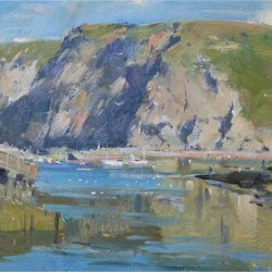 Afternoon-shadows-on-the-cliffs-Staithes