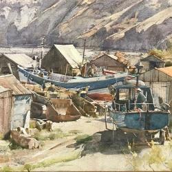 Fishermens-huts-Port-Mulgrave