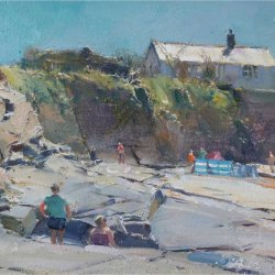 Holiday-makers-Constantine-Bay