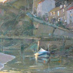 Last-Light-Staithes-Oil-8-x-12