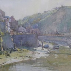 Late-afternoon-sun-Staithes