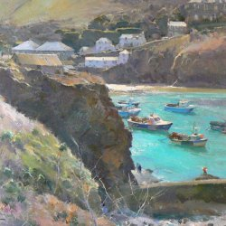 Moorings-Port-Isaac-Oil-16-x-12