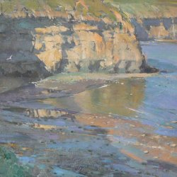 Seacliffs-towards-Boulby-Oil-14-x-10
