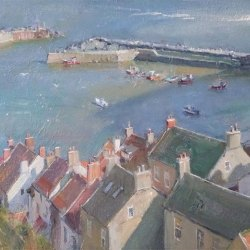 Shadow-from-the-cliffs-Staithes
