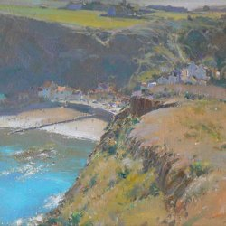 Sheltered-Bay-Staithes-Oil-9-x-12