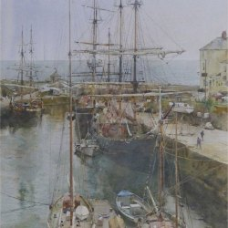 Tall-ships-moored-Charleston-Bay