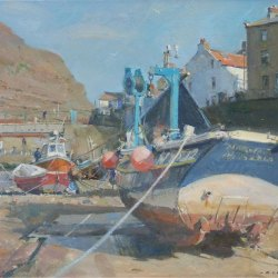 Winter-moorings-in-The-Beck-Staithes