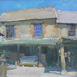 Old-Wood-Mill-Isle-of-Wight-Oil-8-x-12