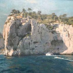 Limestone-cliffs-Les-Calanques-Cassis