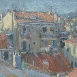 Rooftops-over-Marselles-evening-study